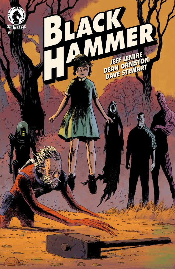 Black Hammer 1 cover